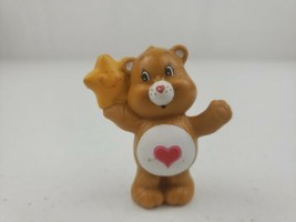 Vintage Care Bears Tenderheart Bear with a Star ⭐ Figure 1984 Miniature ... - $7.30
