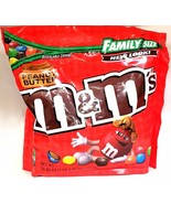 M&M's Red White &Blue Party Size OR Family Bag Milk Chocolate Peanut But... - $10.97