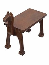 storeindya Solid Wood Camel Bench Furniture for Entryway Outdoor Chair G... - $339.70