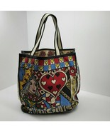 Brighton Queen of Love Tom Clancy Tote Bag Fabric Large Pre-owned - $29.69