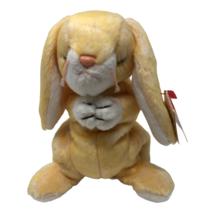 "Ty Beanie Babies Plush Grace Praying Rabbit 4274 6"" Yellow Stuffed Animal Toy - $7.50"