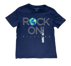 Tommy Hilfiger Kids T-Shirt Boys Dark Blue- XS (4-5) - $29.99
