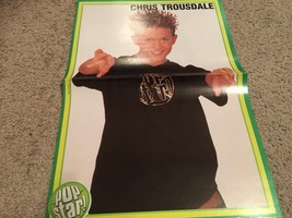 Chris Trousdale Nick Carter teen magazine poster clipping Popstar shirt BSB