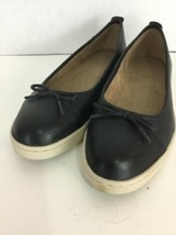 Women's Clarks Artisan Comfort Black Leather Slip On Ballet Flats Shoes ... - $27.10