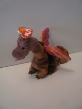 Ty Beanie Babies Dragon SCORCH 1998 Limited Edition Collectibles NWT - $9.89