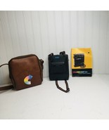 Kodak Colorburst 50 Vintage Instant Camera with Brown Leather Camera Bag - $24.18