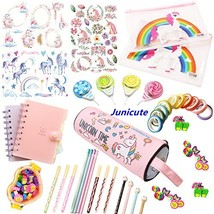 WZ Assorted Unicorn School Supplies Pen Pencil Case Eraser Note Statione... - $23.90