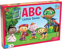 Super Why ABC Letter Game - $33.44