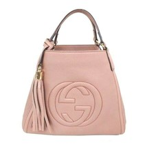 GUCCI SOHO Disco Hand Shoulder Bag Cross Body Calfskin JAPAN EXCLUSIVE L... - $1,821.55