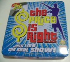 Used!! The Price Is Right Dvd Edition Game In Metal Collectors Tin, 1 To 6 Play - $4.74