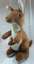 "Kangaroo and Joey Plush 20"" 2011 Unipak  - $19.50"