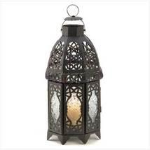 Black Lattice Lantern - $27.54