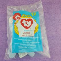 TY Teenie Beanie Baby Peanut Elephant Toy Animal 1998 McDonalds #12 - $7.92