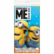 Despicable Me Minion's Plastic Tablecover 54 x 84 Birthday Minion - $5.49
