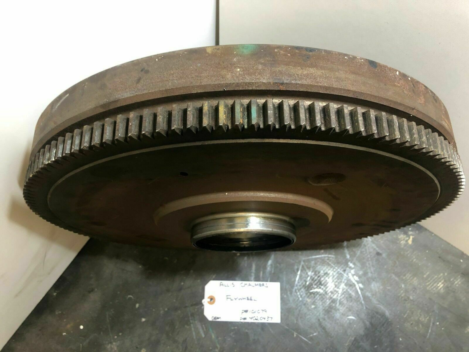 FLYWHEEL ALLIS CHALMERS 101079 / 4020437 OEM image 3