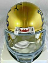 TROY AIKMAN / NFL HALL OF FAME / AUTOGRAPHED UCLA LOGO MINI HELMET / PLAYER COA image 4
