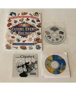 Clip Art Lot Art Explosion Events Seasons Holidays PC Computer Software ... - $29.99