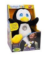 Flashlight Friends As Seen On TV Stuffed Animal Black Penguin - $39.17