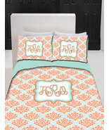 Personalized Custom  Bedding Duvet Cover TWIN Size SET 2 Matching Pillow... - $189.00