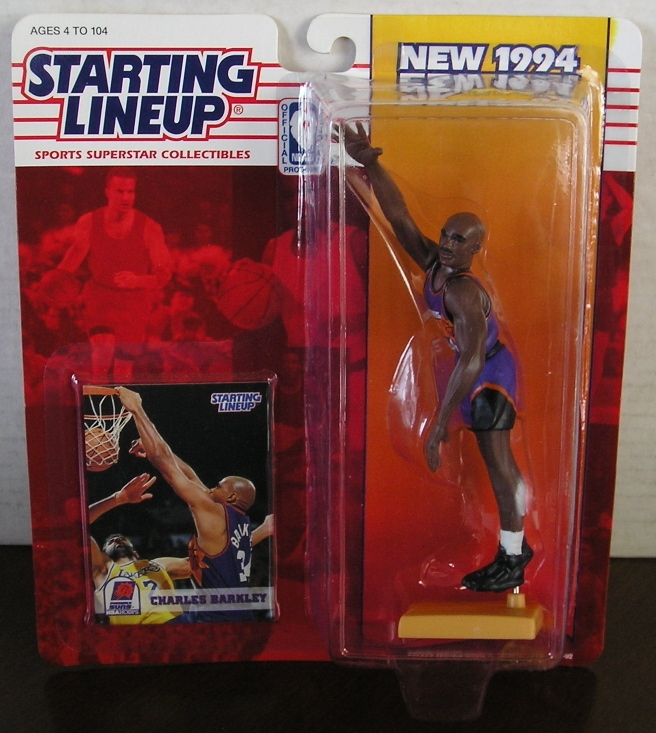 Starting Lineup 1994 NBA Edition - Charles Barkley - brand new