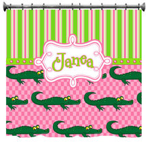 Personalized Later Gator Shower Curtain - $78.00