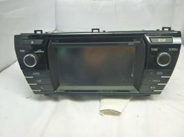 14 15 16 17 Toyota Corolla Radio Cd Player Touchscreen 86140-02050 10014... - $42.77