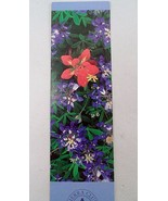 NOS Antioch Publishing Sierra Club Bookmark Indian Paintbrush Lupines Fl... - $3.51