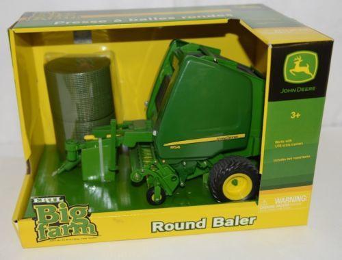 John Deere TBEK46004 Big Farm Round Baler Two Round Bales