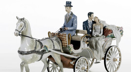 Lladro 1932 BRIDAL CARRIAGE 01001932 Limited Edition New in original box - $11,137.50