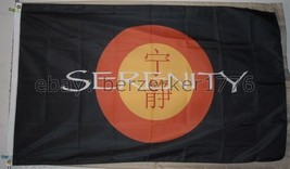 Serenity Firefly 3'x5 Flag Banner Independents Browncoats Joss Whedon USA Seller - $25.00