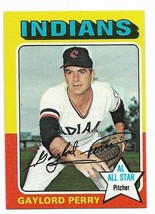 1975 Topps #530 Gaylord Perry, Cleveland Indians HOF - $2.65