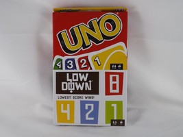 Mattel Games UNO Card Game & Low Down Card Game - New - $9.49