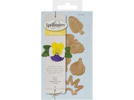 Spellbinders Die D-Lites Create-a-Flower Pansy Die Set #S2-126