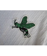 Green Hornet or Wasp or Flying Stinging Insect Sew on Patch or Applique - $2.99