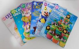 Wilton Cake Decorating LOT of 6 Yearbooks Cupcake Fun Celebrate Fondant ... - $23.33