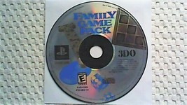 Family Game Pack (Sony PlayStation 1, 2000) - $9.75