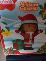 Christmas Nickelodeon Dora the Explorer Airblown Inflatable 4 ft Tall NIB - $39.99