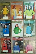 The Workbasket Magazine - 1973 Lot of 9 Total - Vintage! NICE - FAST FREE SHIP!! - $15.94