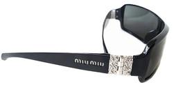 Authentic Miu Miu women Sunglasses SMU05H 1AB-1A1 Black sunglasses - $135.00