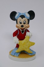 "Walt Disney Productions Mickey Mouse Scuba Diver Starfish 4"" Figurine RARE - $17.09"