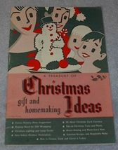 Treasury of Christmas Ideas, Crafts, Cooking, Gifts - $5.00