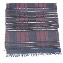 Men Scarf wool checks MOSCHINO Plaids&checks 0498 - $51.98