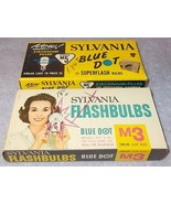Vintage Sylvania Blue Dot Camera Flashbulbs M5 and M3 - $7.95