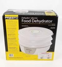 Presto 06300 Electric Food Dehydrator 120 volts AC 600 watts White Nonst... - £31.89 GBP