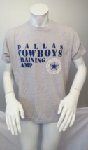 Dallas Cowboys Shirt (VTG) - Training Camp Type Set Graphic - Men's Extra Large  - $65.00