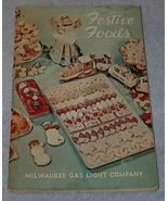 Festive Foods Recipe Cook Book, Baking, Christmas, New Year - $5.00