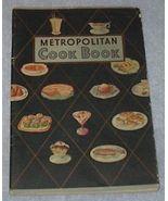 Metropolitan Cook Book, Recipes, Baking, Desserts - $4.00