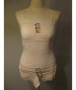 Lingerie Beige Lace Cami Set Size XS 3-4 - $12.00
