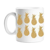 All Gifts Golden Pineapple Coffee Mug - $14.69