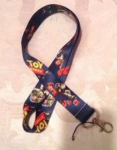 Disney Toy Story- Woody, Buzz Lanyard Strap One Piece Cell Phone Key Chain NEW